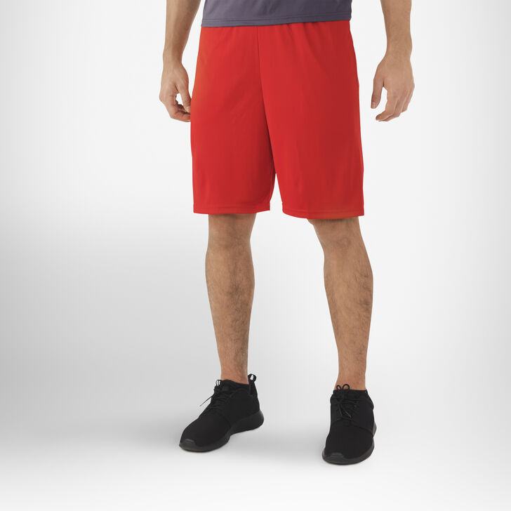 Men's Dri-Power® Essential Performance Shorts with Pockets TRUE RED