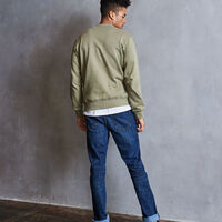 Men's Heritage Fleece Crew Sweatshirt DRY GRASS