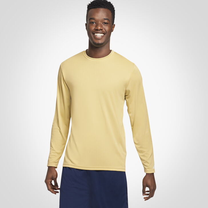Men's Dri-Power® Performance Long Sleeve T-Shirt GT GOLD