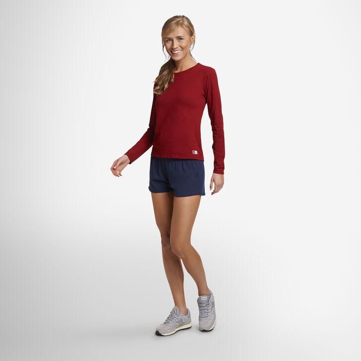 Women's Cotton Performance Active Shorts NAVY