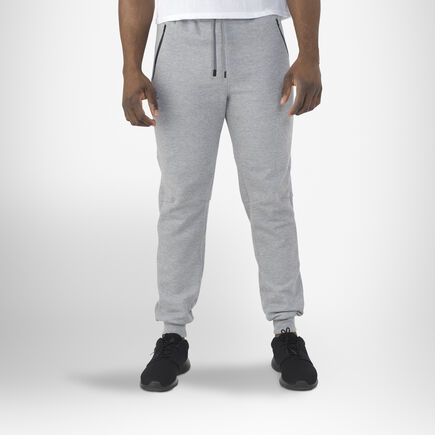 Men's Cotton Rich Fleece Jogger MEDIUM GREY HEATHER