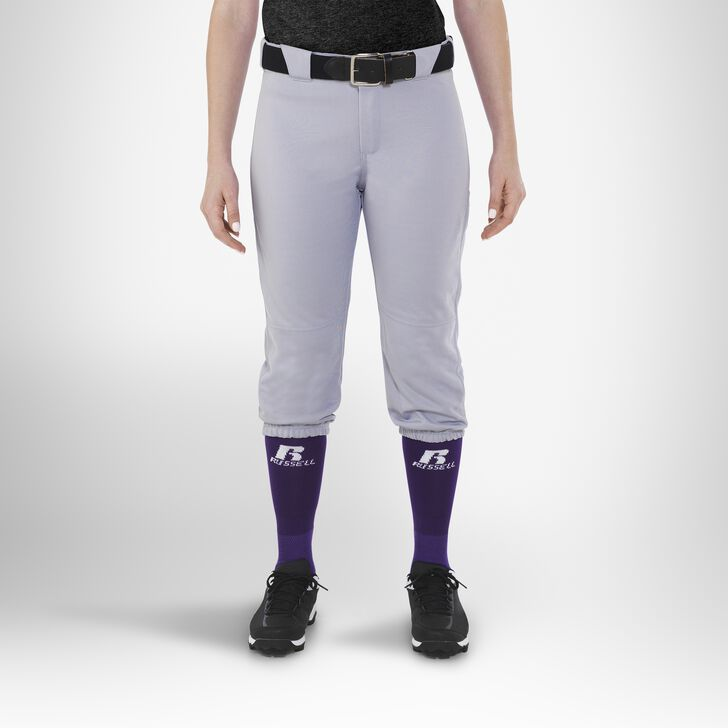 Women's Knicker Softball Pants BASEBALL GREY