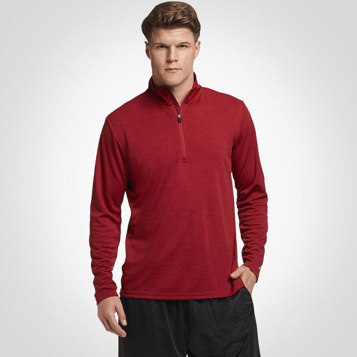 Men's Dri-Power® Lightweight 1/4 Zip Pullover CARDINAL