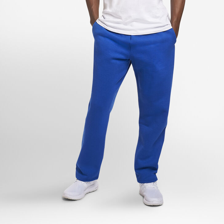 Men's Dri-Power® Open-Bottom Sweatpants with Pockets Royal