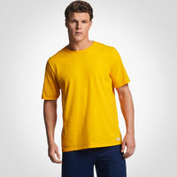Men's Cotton Performance T-Shirt GOLD