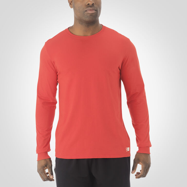 Men's Essential Long Sleeve Tee TRUE RED