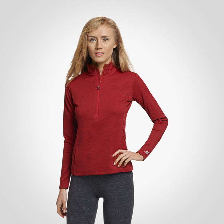 Women's Dri-Power® Lightweight 1/4 Zip Pullover TRUE RED