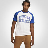 Men's Iconic Arch Pro Block T-Shirt ROYAL