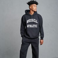 Dri-Power Fleece Arch Graphic Hoodie BLACK