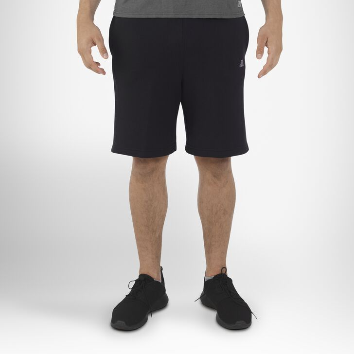 Men's Dri-Power® Fleece Training Shorts with Pockets BLACK