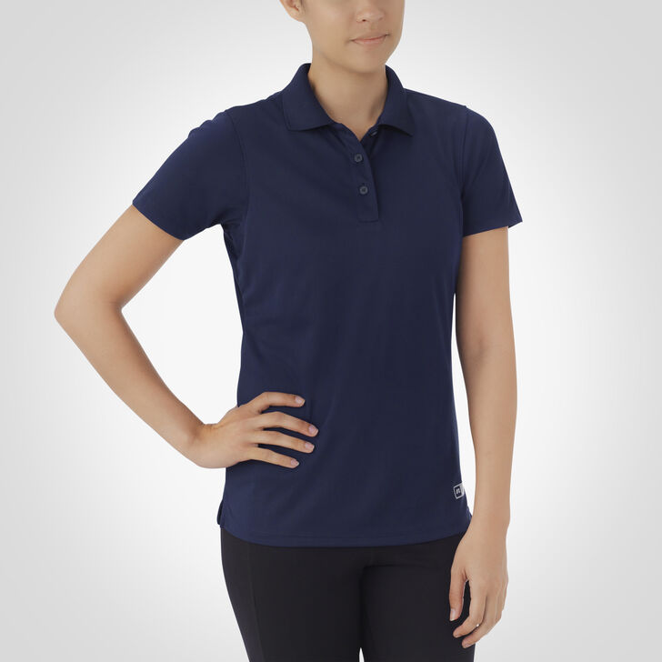 Women's Dri-Power® Short Sleeve Essential Polo NAVY