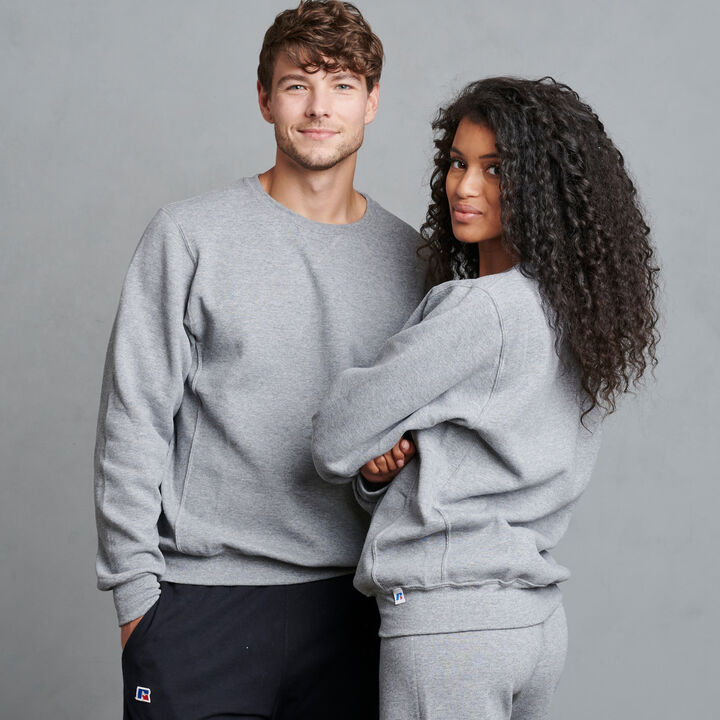 Men's Dri-Power® Fleece Crew Sweatshirt Oxford