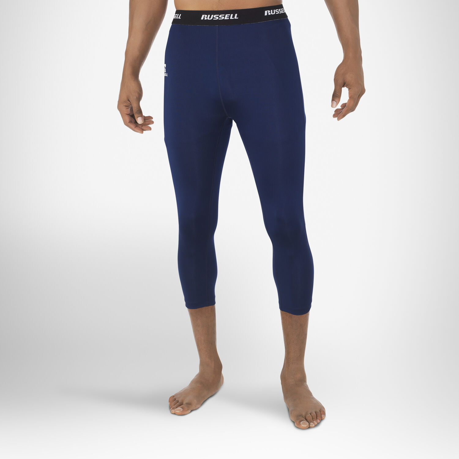 cf2306e3285e2 Men's Dri-Power® 3/4 Compression Tights - Russell US   Russell Athletic