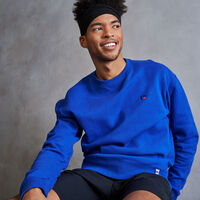 Men's Heritage Fleece Crew Sweatshirt MAZARINE BLUE