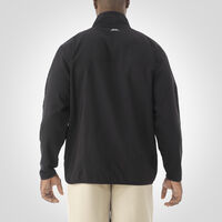 Men's Woven 1/4 Zip Pullover BLACK