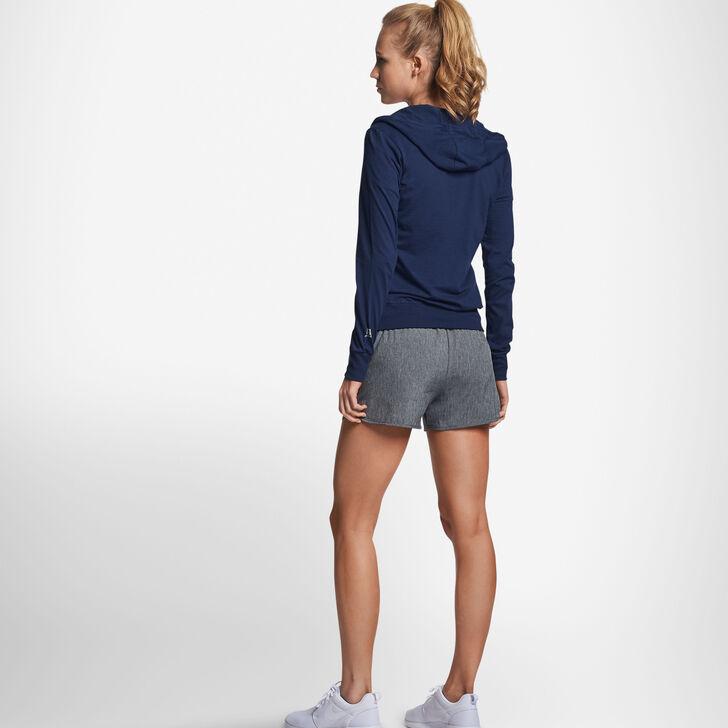 Women's Cotton Performance Lightweight Full Zip Hoodie NAVY