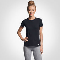 Women's Cotton Performance T-Shirt BLACK