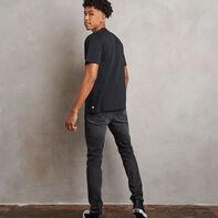 Men's Heritage Flock Graphic T-Shirt BLACK