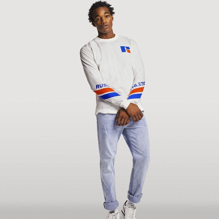 Men's Heritage Graphic Long Sleeve T-Shirt SOYA