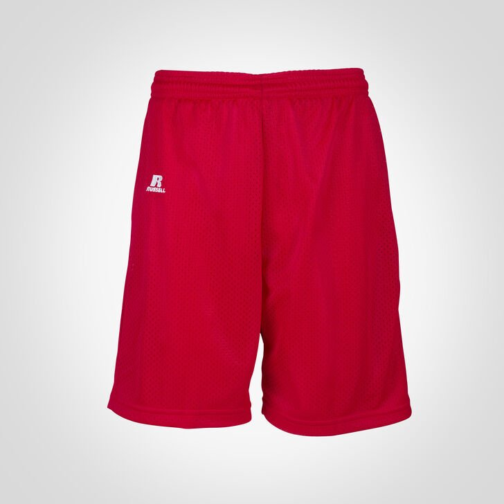 Youth Dri-Power® Mesh Shorts True Red