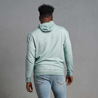 Men's Garment Dyed French Terry Hoodie Blue Fog