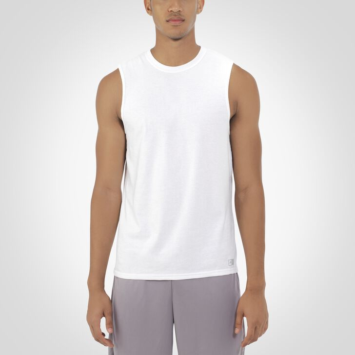Men's Essential Muscle Tee WHITE