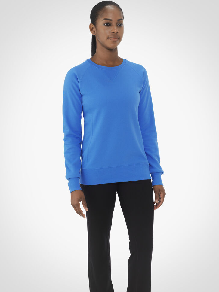 Women's Fleece Crew Sweatshirt
