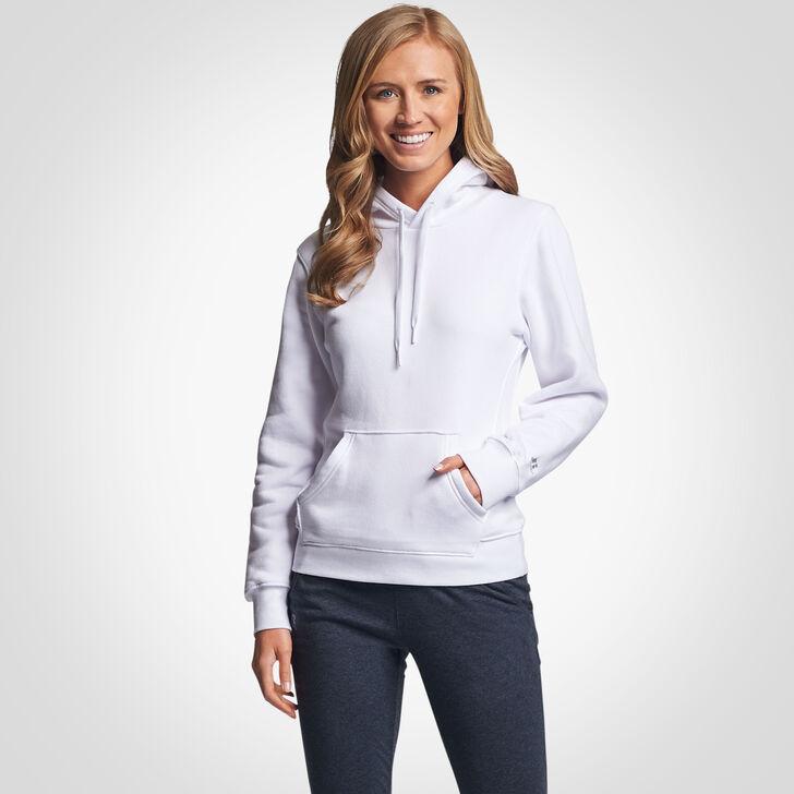 Women's Fleece Hoodie WHITE