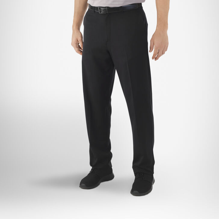 Men's Dri-Power® Flat Front Golf Pants BLACK