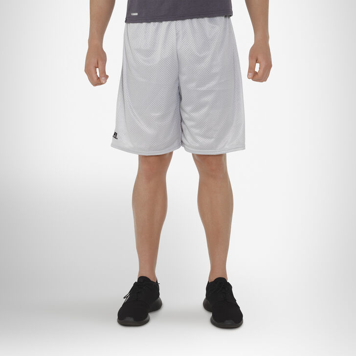Men's Dri-Power® Mesh Shorts (No Pockets) Gridiron Silver