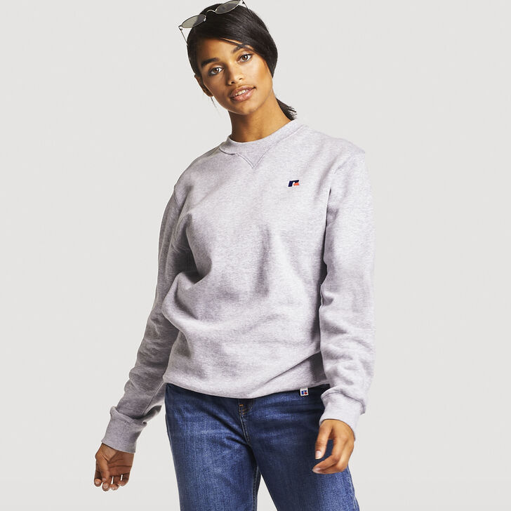 Women's Heritage Fleece Crew Sweatshirt OXFORD
