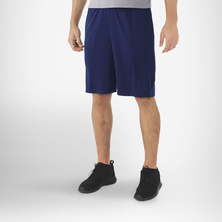 Men's Dri-Power® Essential Performance Shorts with Pockets NAVY