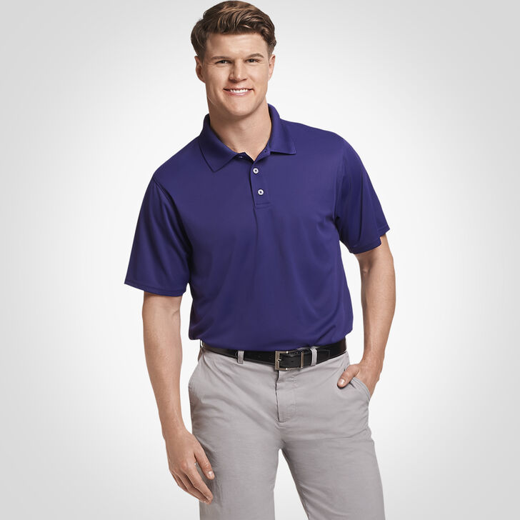 Men's Dri-Power® Performance Golf Polo PURPLE
