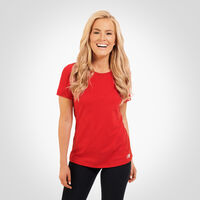 Women's Essential Tee TRUE RED