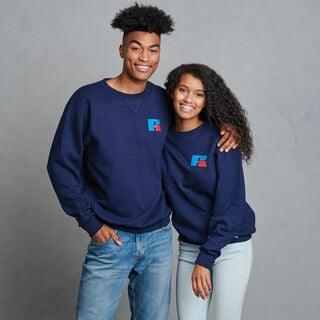 Dri-Power Fleece Logo Sweatshirt NAVY