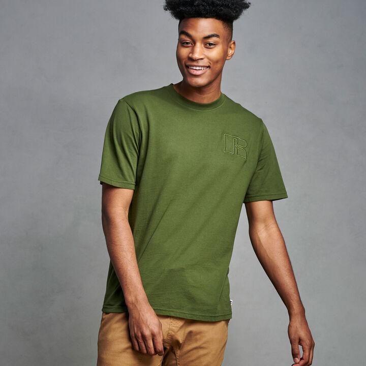 Men's Heritage Garment Dyed T-Shirt CYPRESS