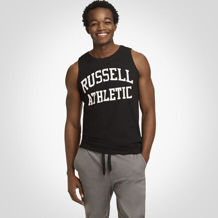 Russell Athletic Iconic Arch Tank Top BLACK