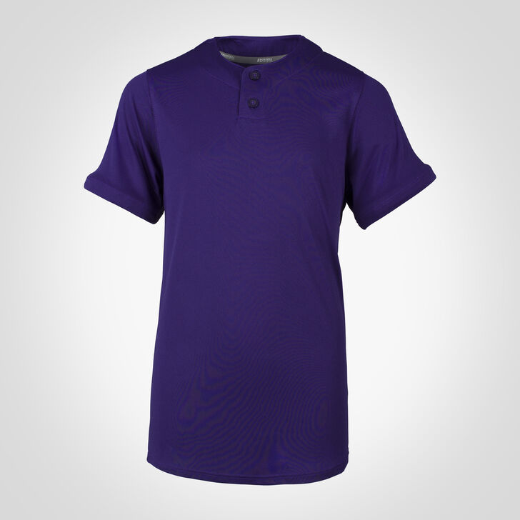 Youth Dri-Power® Solid Baseball Jersey PURPLE