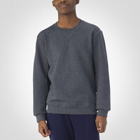 Youth Dri-Power® Fleece Crew Sweatshirt BLACK HEATHER