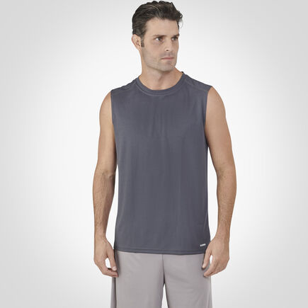 Men's Dri-Power® Performance Mesh Sleeveless Muscle Stealth