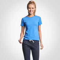 Women's Cotton Performance T-Shirt COLLEGIATE BLUE