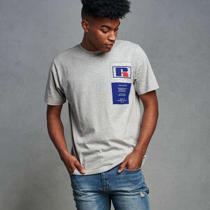 Men's Heritage Garment Label Graphic T-Shirt OXFORD