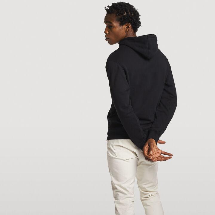 Men's Heritage Chenille Hoodie BLACK