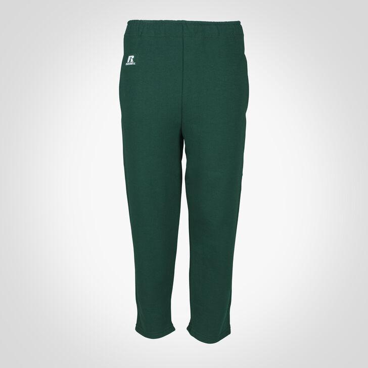 Youth Dri-Power® Open-Bottom Pocket Sweatpants DARK GREEN