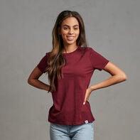 Women's Cotton Performance T-Shirt Maroon