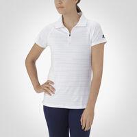 Women's Dri-Power® Striated Polo WHITE