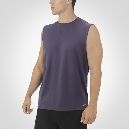 Men's Dri-Power® Mesh Muscle Tee STEALTH