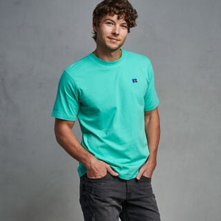Men's Heritage Baseliner T-Shirt TURQUOISE