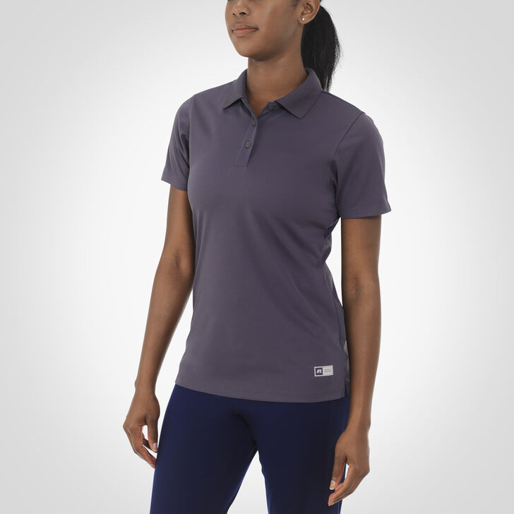 Women's Dri-Power® Short Sleeve Essential Polo STEALTH