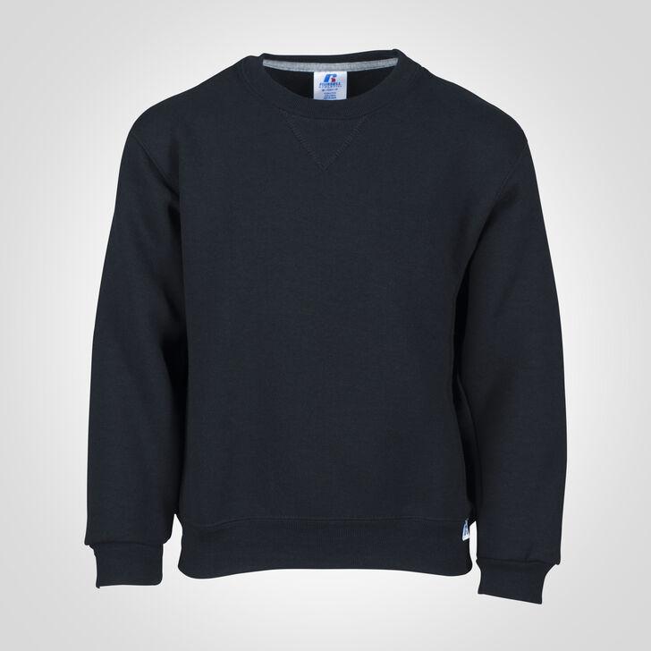 Youth Dri-Power® Fleece Sweatshirt BLACK